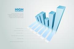 3D arrow Stock Photography