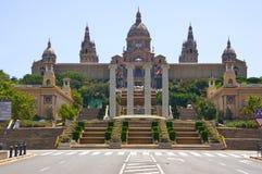D'Art de Catalunya de Museu Nacional. Foto de Stock Royalty Free
