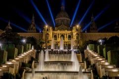 d'Art de Catalunya de Museu Nacional Images libres de droits