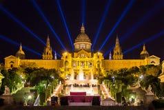 D'Art de Catalunya de Museu Nacional - Barcelona Fotos de Stock Royalty Free