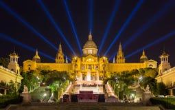D'Art de Catalunya Museu Nacional - Barcelona, Spanien Lizenzfreie Stockfotos