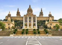 D'art nacional de Catalunia (MNAC) del museo 4 Foto de archivo