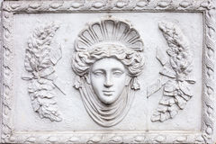 3D art Roman sculpture made of white plaster Royalty Free Stock Photos