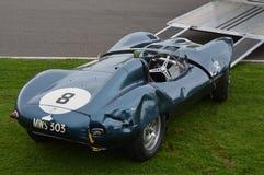 D-artige Abbrüche Jaguars bei Goodwood Lizenzfreies Stockbild