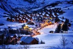 D'Arves di San-Jean, alpi, Francia Immagini Stock