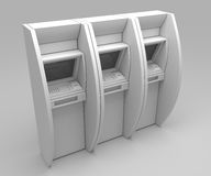 3d ATM-matchine Stock Foto