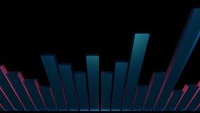 3d audio bar stock video