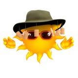 3d Australian sun Royalty Free Stock Photo
