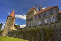 D'Avenches de château Photo libre de droits