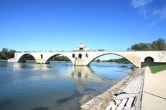 d'Avignon de Le pont Image libre de droits