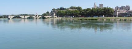d'Avignon de Pont, Avignon, Francia Foto de archivo