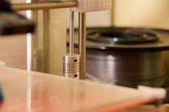 3D axe de l'imprimante y Images libres de droits