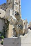 D'Azur Провансали CÃ'te, Франция - собор марселя стоковые изображения