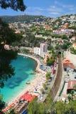 d'Azur da costa foto de stock