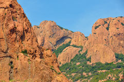 d'Azur da costa Imagens de Stock Royalty Free