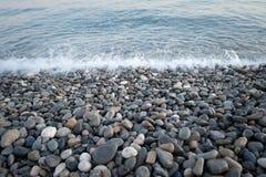 d'Azur da costa, agradável Imagens de Stock