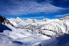 D'Azur de Saint-Martin-Vesubie - de Provence-Alpes-CÃ'te Fotografia de Stock Royalty Free