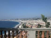 d'Azur del corral - Niza Imagenes de archivo