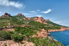 d'Azur del Cote Fotografie Stock