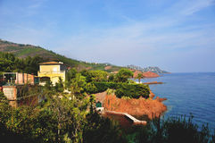 d'Azur del Cote Fotografia Stock Libera da Diritti