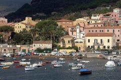 d azzurro Elba isola Porto Zdjęcie Stock