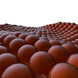 3d background of balls Stock Photos