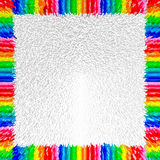 3D background. 3D blocks basic color abstract background Stock Photo