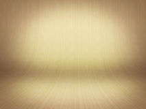 Realistic 3D presentation empty room - wood parket background Royalty Free Stock Photos