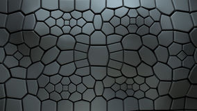 3d background with extruded polygons Stock Image