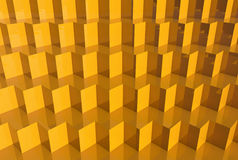 3D background with geometric shapes. Render Royalty Free Stock Photos