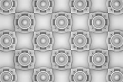 Abstract background of 3d blocks. 3d background, geometric shapes, top view volume of chiaroscuro Stock Image