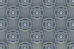 Abstract background of 3d blocks Royalty Free Stock Images