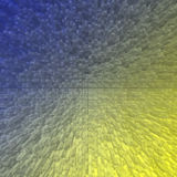 3D background image color. 3D block  background imageof gradient color Royalty Free Stock Photography