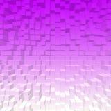 3D background image color. 3D block  background imageof gradient color Stock Photography