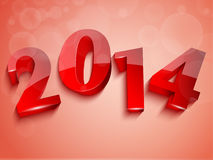 3D 2014 background Royalty Free Stock Images