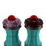 3d Bakery. Bakery cake 3d fancy cup Stock Photography