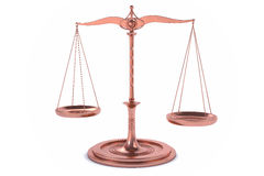 3D  Balance or scale Background for measure. Justice, law or decisions concept Royalty Free Stock Image