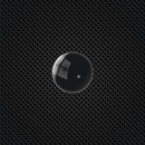 3d ball. Abstract background made in black tones Royalty Free Stock Photo