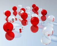 3D Ballen Stock Foto