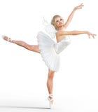 3D ballerina met vleugels Royalty-vrije Stock Fotografie
