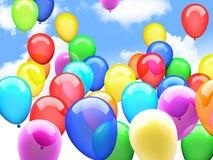 3d ballons Obrazy Stock