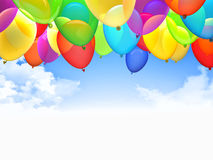 3d ballons Zdjęcia Royalty Free