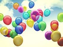3d ballons Stock Image
