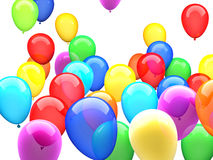 3d ballons Stock Images