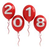 2018 New year concept Royalty Free Stock Images
