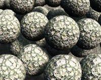 3d balls Στοκ εικόνα με δικαίωμα ελεύθερης χρήσης