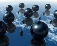 3d balls Στοκ φωτογραφία με δικαίωμα ελεύθερης χρήσης