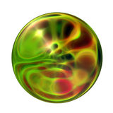 3D Balls. Abstract background of 3d ball Stock Photography