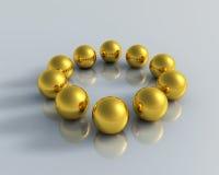 3D Balls Stock Images