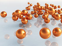 3D Balls Royalty Free Stock Photos